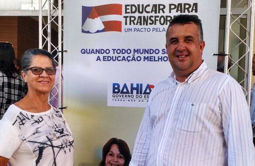Barra da Estiva  Prefeito participa do lançamento do Pacto pela Educação do  Governo do Estado 550c74f8c5