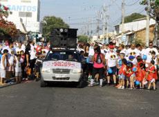 Caminhada dos Pais do Centro Educacional Monteiro Lobato