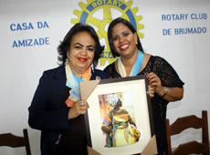 Visita da governadora do distrito 4550 ao Rotary Club de Brumado