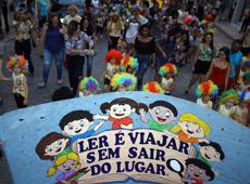 Projeto de leitura do Centro Educacional Paulo Freire