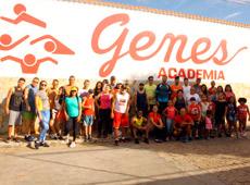 Caminhada para comemorar os 30 anos da Genes Academia