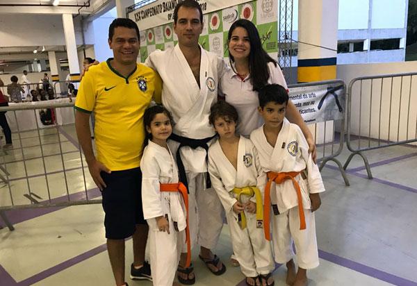 Brumadense é campeão do XXX Campeonato Baiano de Karatê-Dô Tradicional