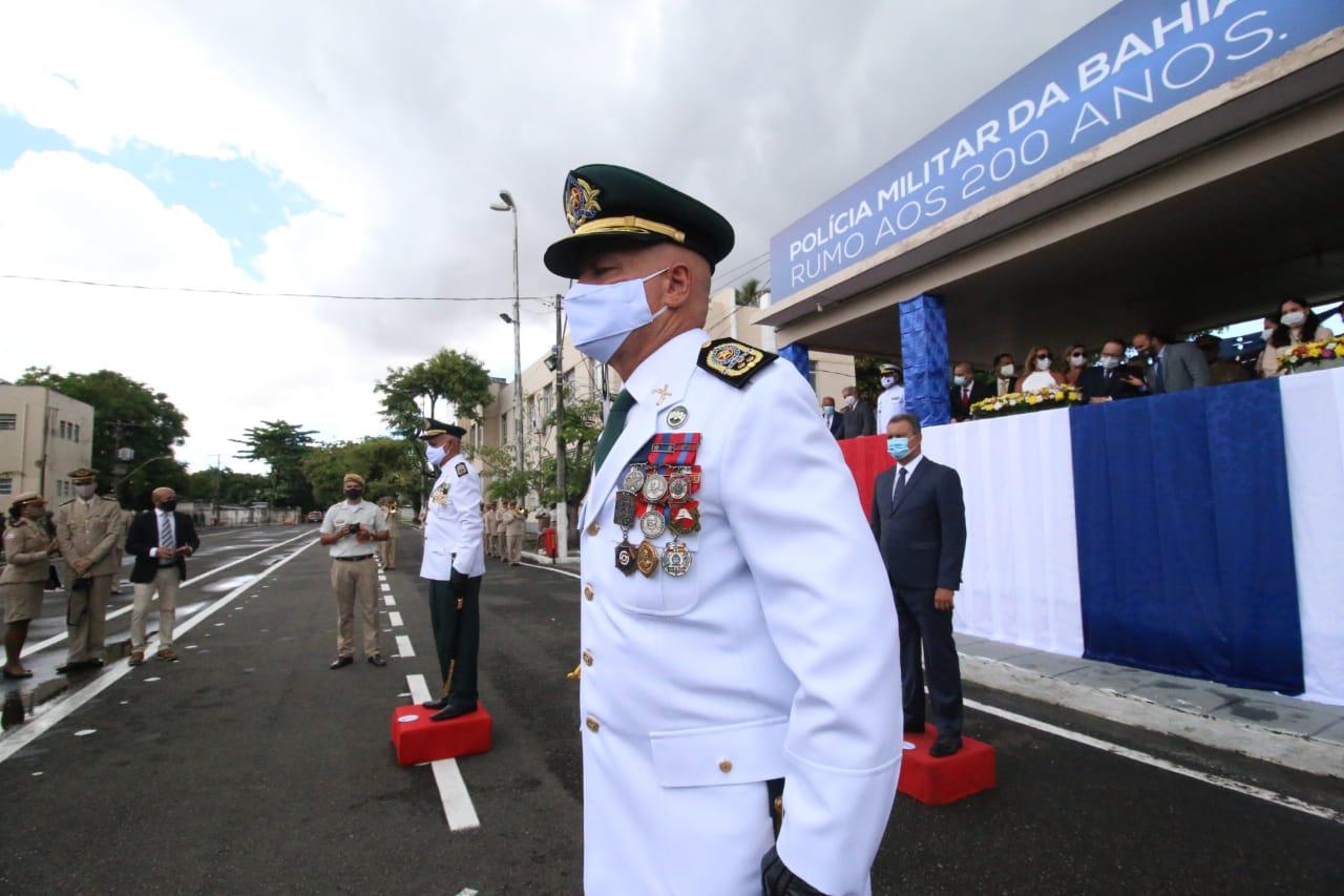 Coronel Coutinho assume comando da Polícia Militar da Bahia