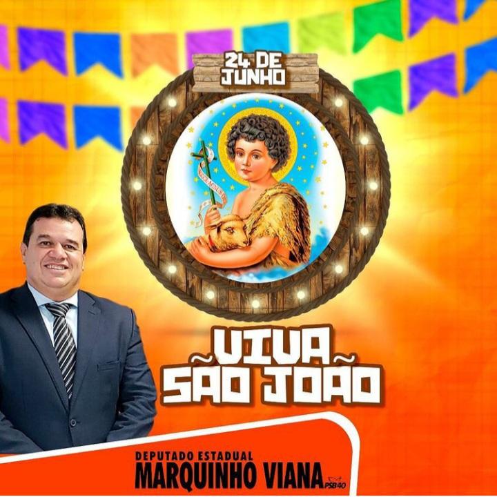 Deputado Marquinho Viana homenageia o Dia de São João