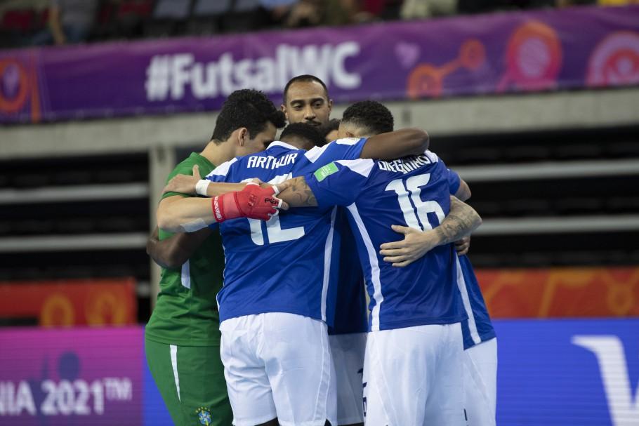 Futsal: Brasil estreia na Copa do Mundo goleando o Vietnã