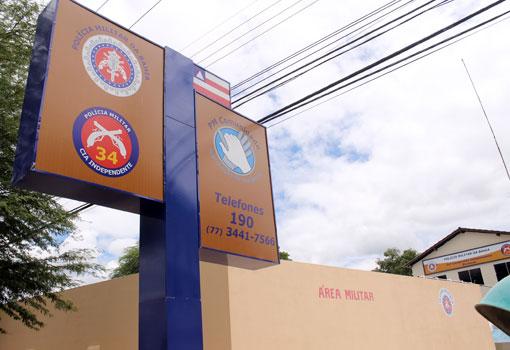 Patrulha Solidária da 34ª CIPM realiza arrecadação de alimentos e produtos de higiene