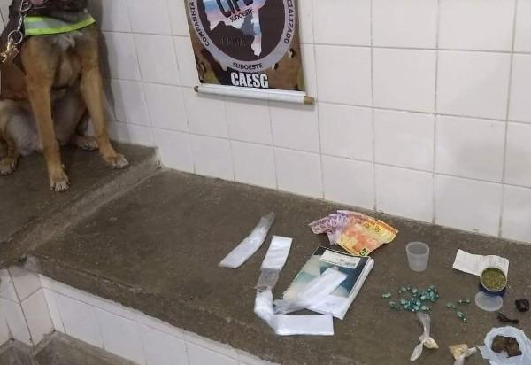 Brumado: Caesg detém acusados de tráfico de drogas no Bairro São Jorge