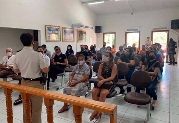 46ª CIPM lança operação 'Fim de  Ano em Paz' no município de Paramirim