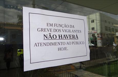FIM DA GREVE DOS VIGILANTES SERÁ DECIDIDO QUINTA