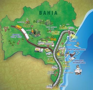 Mudança nos limites territoriais afeta economia de 74 municípios baianos
