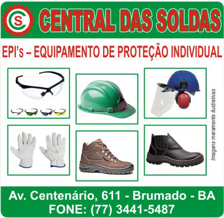 Central das Soldas - Equipamentos de Proteção Individual