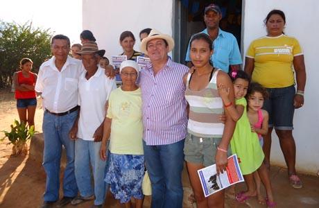 JOÃO BONFIM VISITA COMUNIDADES BRUMADENSES