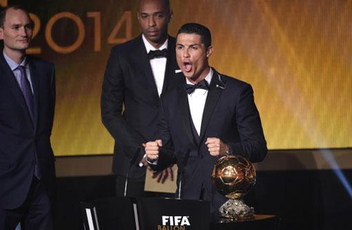 Cristiano Ronaldo confirma favoritismo, fatura a Bola de Ouro