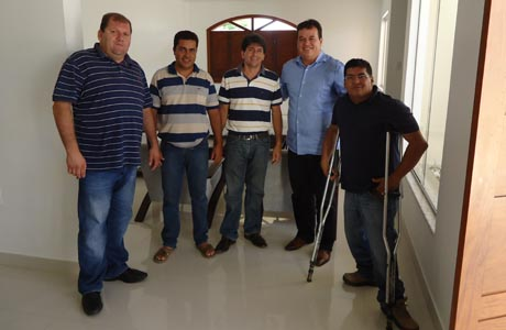 MARQUINHO VIANA VISITA O MUNICÍPIO DE ARACATU