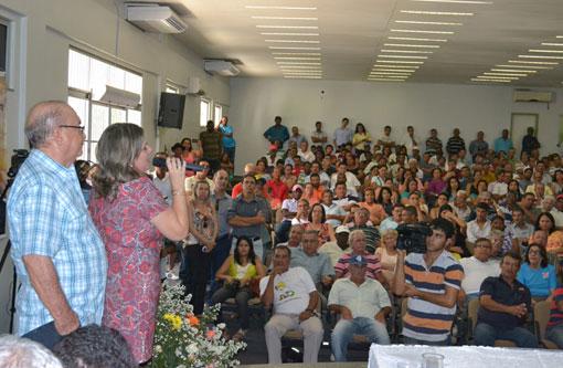 Encontro do Mandato da deputada Ivana Bastos reúne mais de 500 pessoas em Guanambi