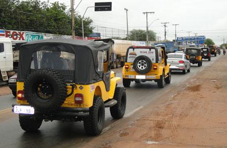 Jeep Clube de Brumado realiza 1º Encontro de Jeep