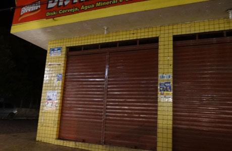 Brumado: Bandidos assaltaram distribuidora de bebidas