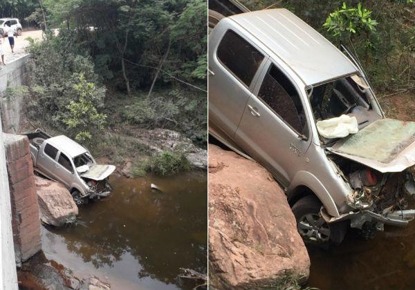 Esposa do ex-prefeito de Iramaia morre em grave acidente de trânsito