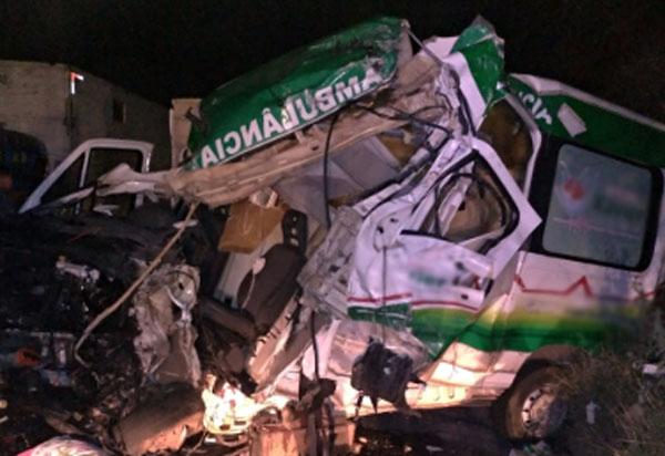 Identificado vítima fatal de acidente com ambulância de uma empresa funerária brumadense