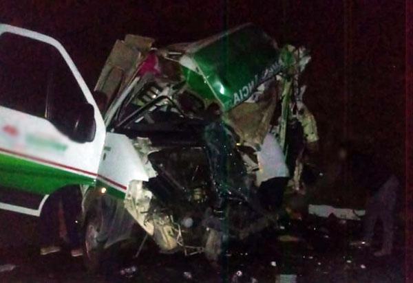 Maracás: Acidente envolvendo ambulância de uma empresa brumadense deixa uma vítima fatal