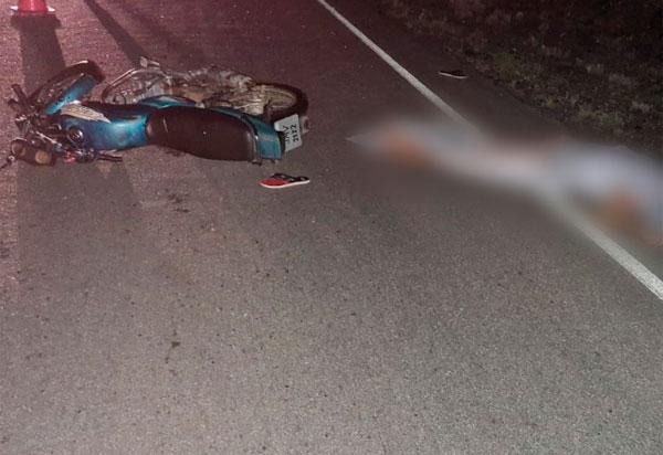 BA-148: Motociclista morre em acidente entre Livramento e Dom Basílio