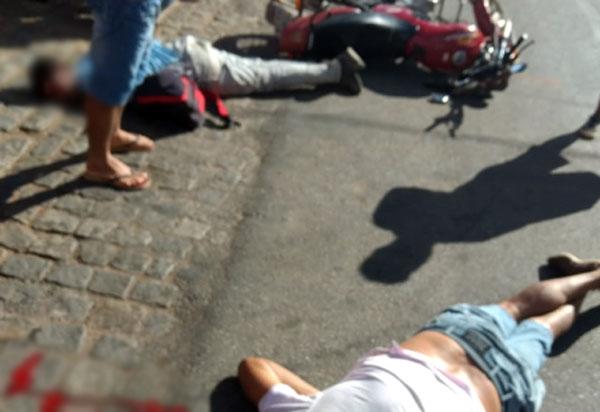 Homem é atropelado ao atravessar Avenida Leônidas Cardoso em Livramento