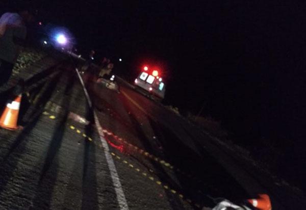 Colisão entre moto e automóvel provoca morte do motociclista na BA-262, entre Brumado e Aracatu