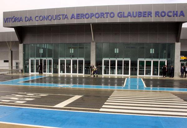 Conquista: Aeroporto Glauber Rocha dobra em movimentação de passageiros