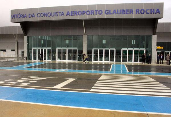 Vitória da Conquista: aeroporto Glauber Rocha vai receber novos voos vindos de Salvador