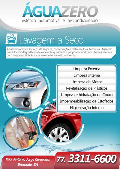 ÁguaZero - Lavagem de automóveis à seco