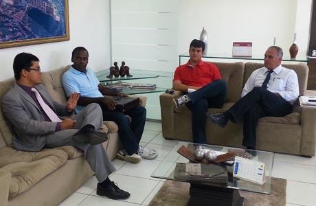 Aguiberto se reuniu com o comando das Polícias Militar e Civil