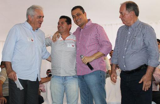 Eleições 2014: Em Brumado Aldenes Meira reforça candidatura