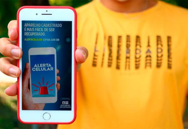SSP lança serviço que permitirá devolução de celulares apreendidos