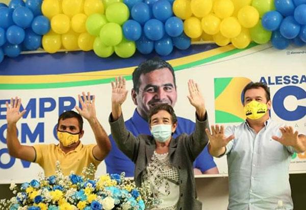 Barra da Estiva: Bico terá Dona Lúcia candidata a vice-prefeita