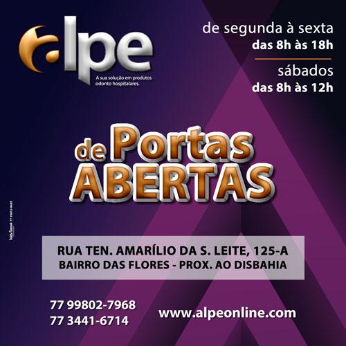 ALPE – produtos odonto hospitalares, inaugurada nesse sábado, 01/09, em Brumado