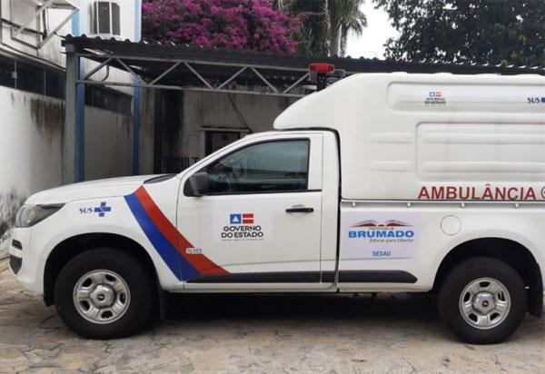 Município de Brumado recebe ambulância especializada para fortalecer o combate à Covid-19 na região
