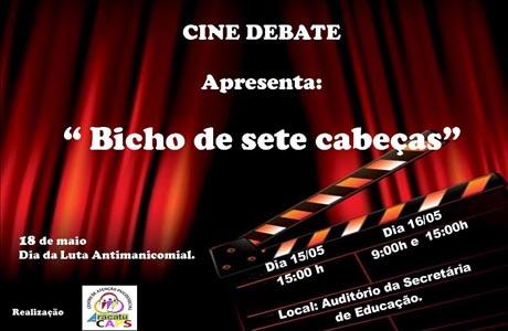 ARACATU: CAPS PROMOVE SESSÃO DE CINEMA