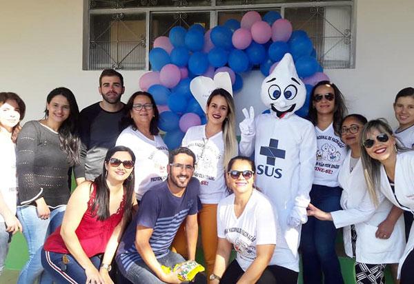 Aracatu: foi realizado o 'Dia D' de vacinação contra sarampo e poliomielite; campanha segue até o dia 31 de agosto