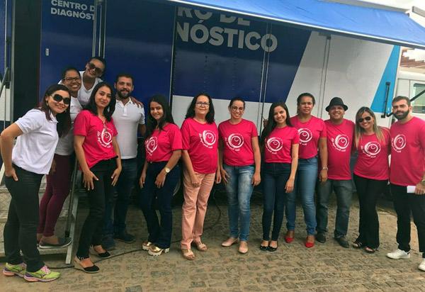 Foram realizadas em Aracatu inúmeras atividades em alusão ao Outubro Rosa