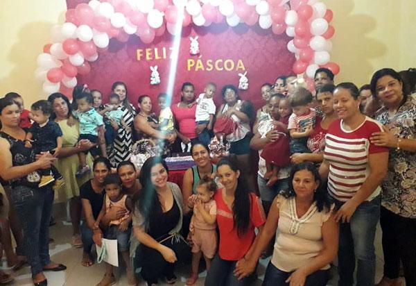 Aracatu: crianças referenciadas aos Programas PCF e Serviço de Convivência e Fortalecimento de Vínculos ganharam ovos de Páscoa