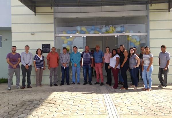 Aracatu: população é beneficiada com a entrega da USF Januário Teixeira de Aguiar