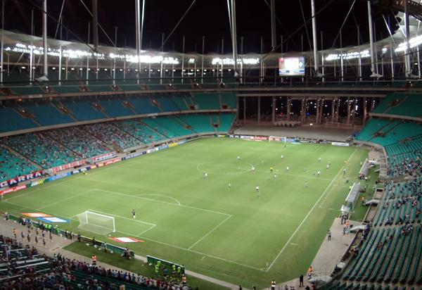 Partidas de futebol continuam suspensas na Bahia