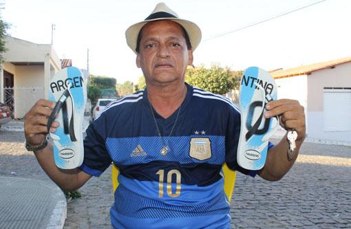 Brumado: Brasileiro torce para a Argentina e diz que Brasil não ganhará a copa