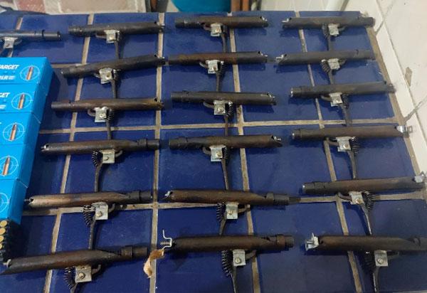 Brumado: PRE apreende munições, insumos para recarga e outros materiais de uso bélico