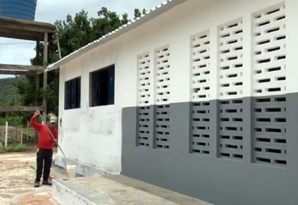 Parceria com a Prefeitura de Brumado promove a revitalização da sede da Associação de Moradores de Pedra Preta