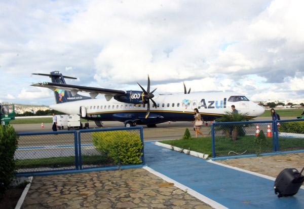 Aeronave que saiu de Conquista, com destino à Belo Horizonte, foi atingida por raio 40min após decolagem