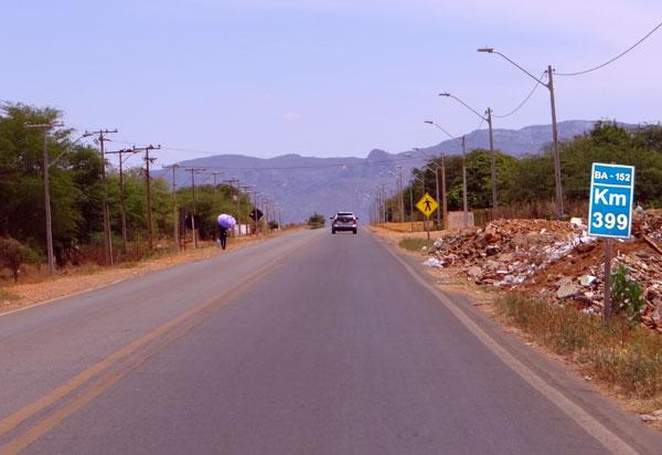 Livramento: Motociclista morre após colisão contra caminhão na BA-152