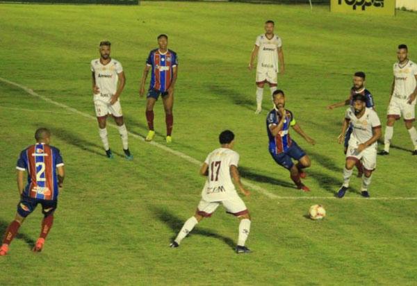 Bahia e Atlético largam na frente na semifinal do Baianão