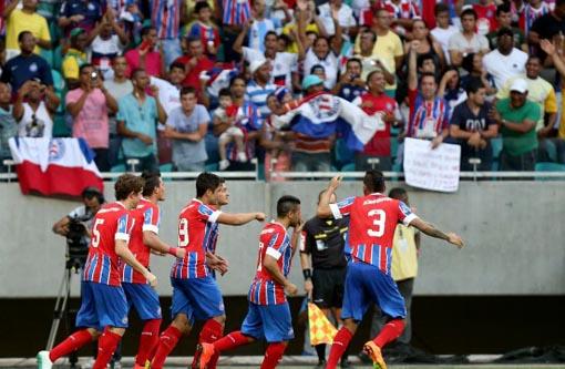 Campeonato Brasileiro: Bahia ganha a 4ª em 5 com recorde de público na Fonte