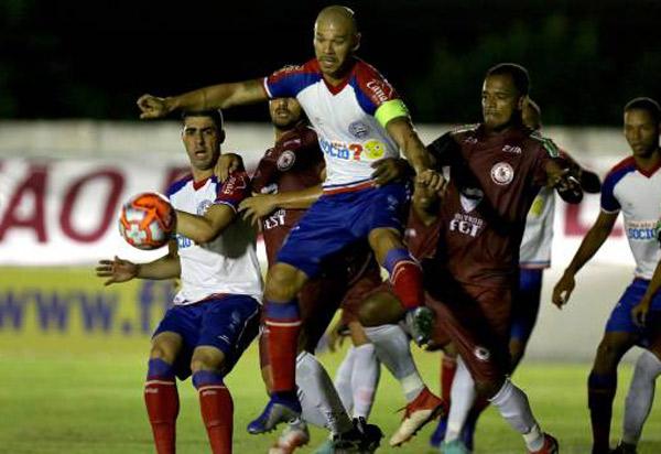 Bahia perde para Jacuipense pelo Campeonato Baiano